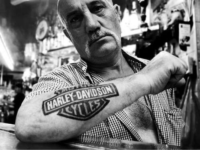 Harley-Davidson tatoo